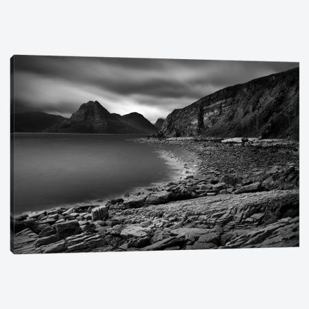 Clouds Over The Cuillin Canvas Print #DVB18} by Dave Bowman Canvas Art Print