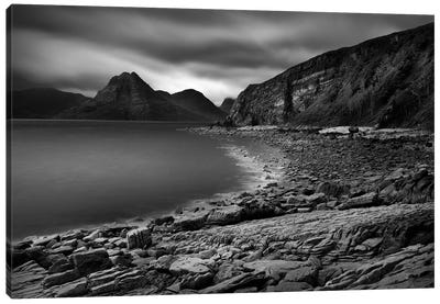 Clouds Over The Cuillin Canvas Art Print