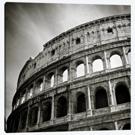 Colosseum Canvas Print #DVB19} by Dave Bowman Canvas Print