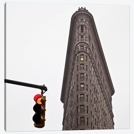 Flatiron Canvas Print #DVB24} by Dave Bowman Art Print