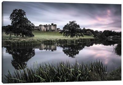 Alnwick Castle Sunset Canvas Art Print