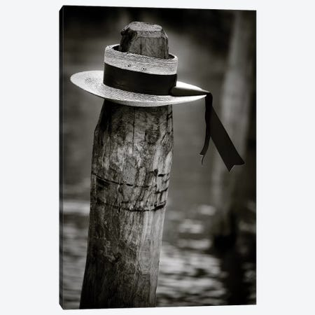 Gondolier Hat Canvas Print #DVB30} by Dave Bowman Canvas Print