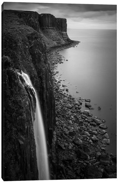 Kilt Rock Waterfall Canvas Art Print