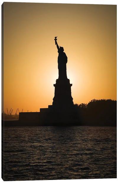 Liberty Sunset Canvas Art Print