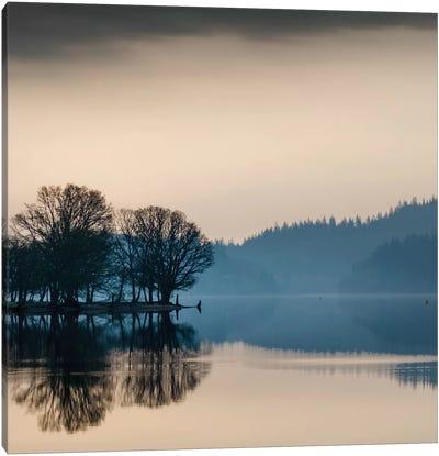 Loch Ard Reflection Canvas Art Print