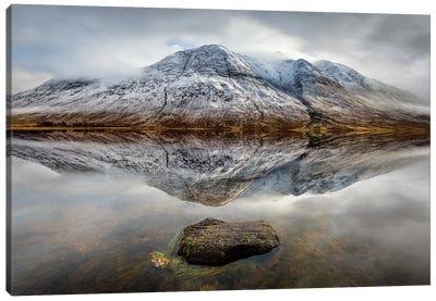 Loch Etive Reflection Canvas Art Print