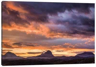 Lochinver Sunrise Canvas Art Print