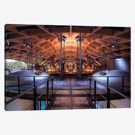 Macallan Distillery Canvas Print #DVB42} by Dave Bowman Canvas Wall Art