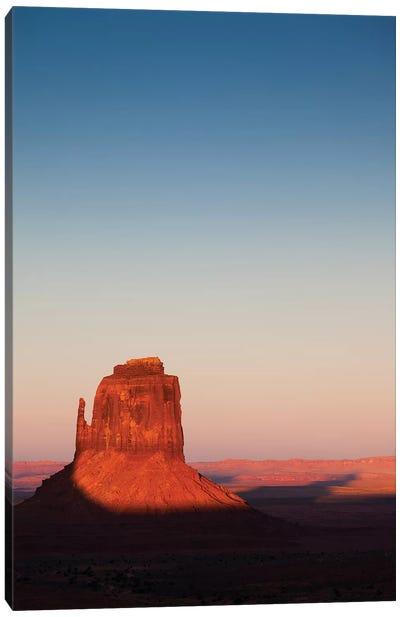 Monument Valley Sunset Canvas Art Print