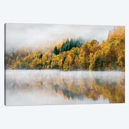 Autumn Mist Canvas Print #DVB4} by Dave Bowman Canvas Print