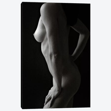 Nude Study VIII Canvas Print #DVB55} by Dave Bowman Canvas Artwork