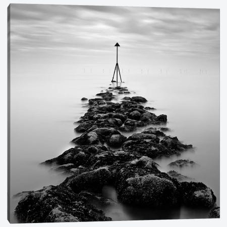Receding Tide Canvas Print #DVB66} by Dave Bowman Canvas Art Print