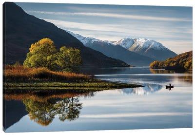 Autumn On Loch Leven Canvas Art Print