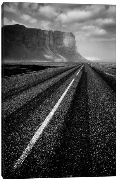 Road To Nowhere Canvas Art Print