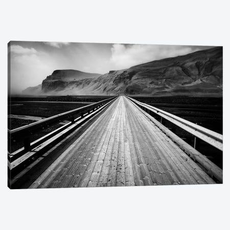 Road To Vik Canvas Print #DVB72} by Dave Bowman Art Print