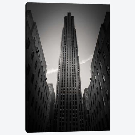 Rockefeller Center Canvas Print #DVB73} by Dave Bowman Art Print