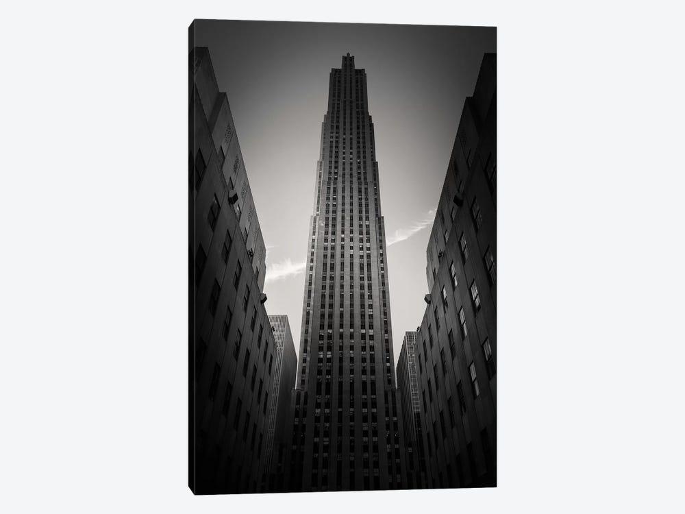 Rockefeller Center by Dave Bowman 1-piece Canvas Art