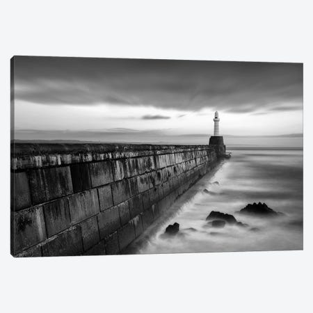 South Pier I Canvas Print #DVB79} by Dave Bowman Canvas Art Print