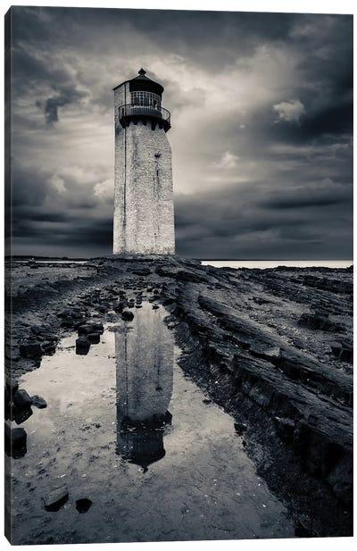 Southerness Lighthouse Canvas Art Print