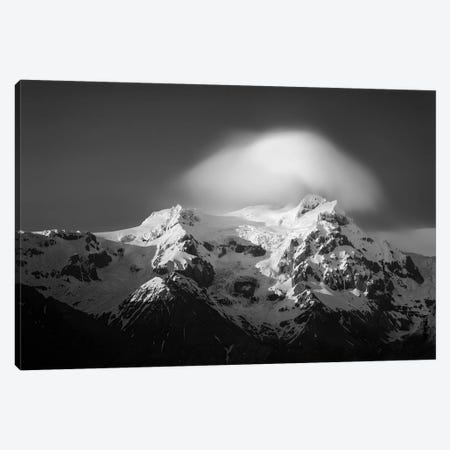 Svinafell Mountains Canvas Print #DVB86} by Dave Bowman Canvas Art Print