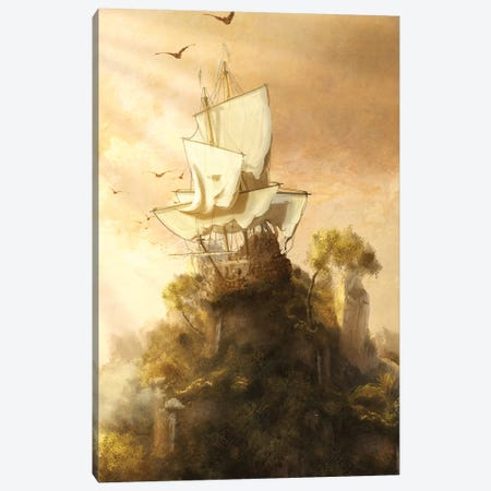 Stranded Canvas Print #DVE105} by Diogo Verissimo Canvas Art Print