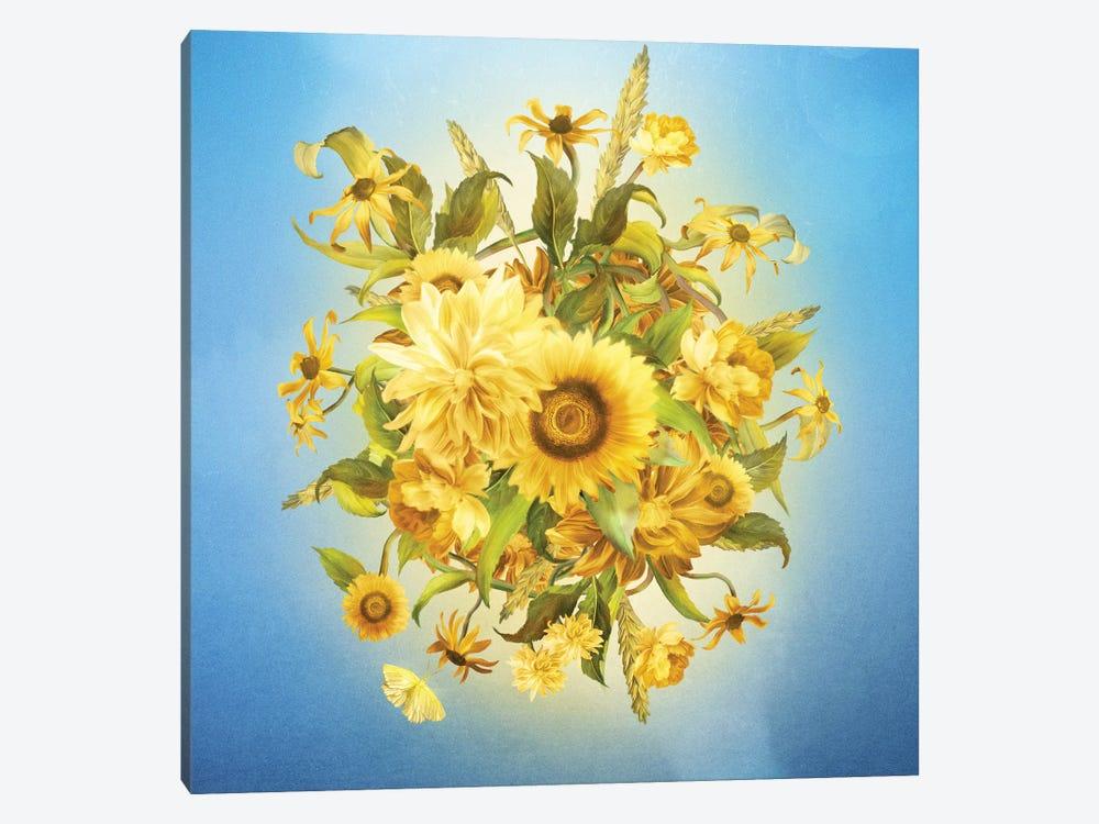 Sunlight Flowers by Diogo Verissimo 1-piece Canvas Artwork