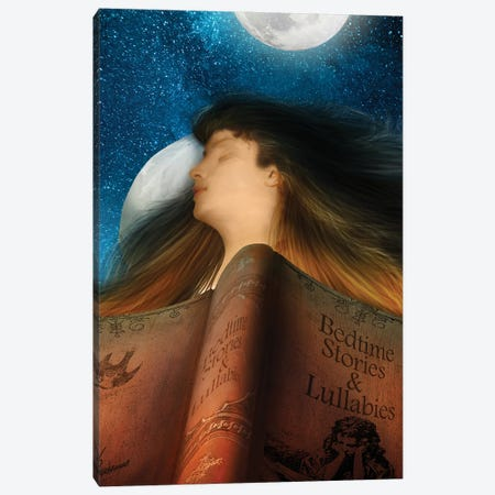 Bedtime Stories Canvas Print #DVE141} by Diogo Verissimo Canvas Artwork
