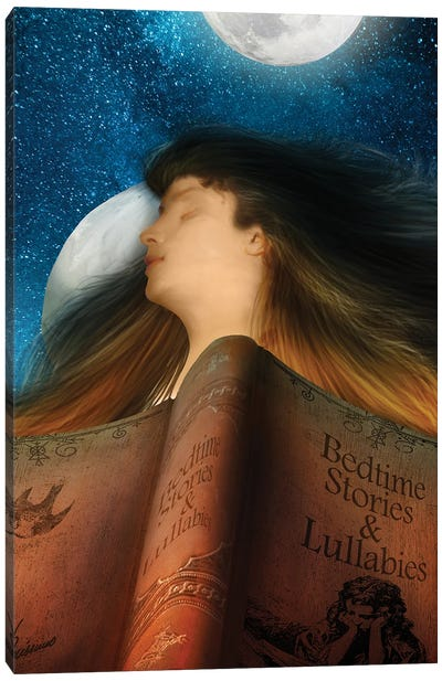 Bedtime Stories Canvas Art Print