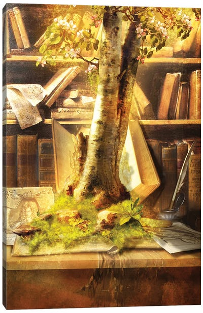 Living Book Canvas Art Print