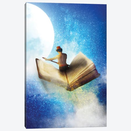 Full Moon Stories Canvas Print #DVE145} by Diogo Verissimo Canvas Art Print