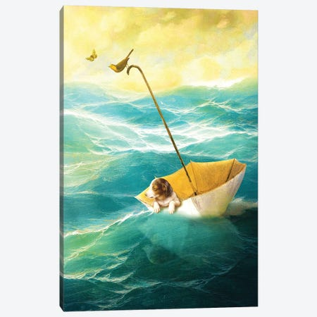 Drifting Away Canvas Print #DVE18} by Diogo Verissimo Canvas Wall Art