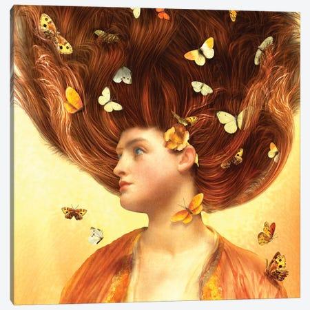Flickering Dreams Canvas Print #DVE24} by Diogo Verissimo Canvas Artwork