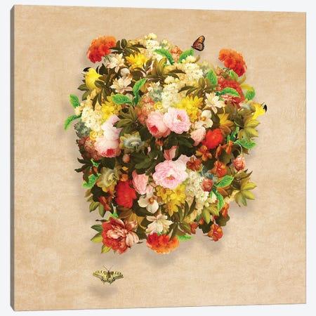 Flourishing Bliss 3-Piece Canvas #DVE25} by Diogo Verissimo Canvas Art