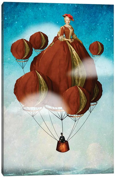 Flying Away Canvas Art Print