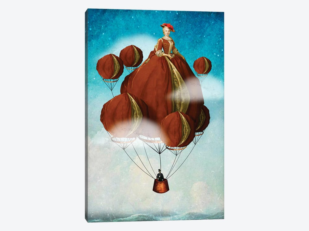 Flying Away by Diogo Verissimo 1-piece Canvas Print