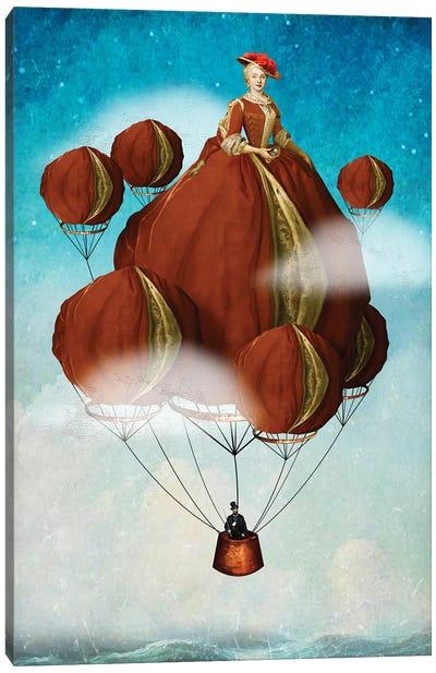 Flying Away Canvas Art Print