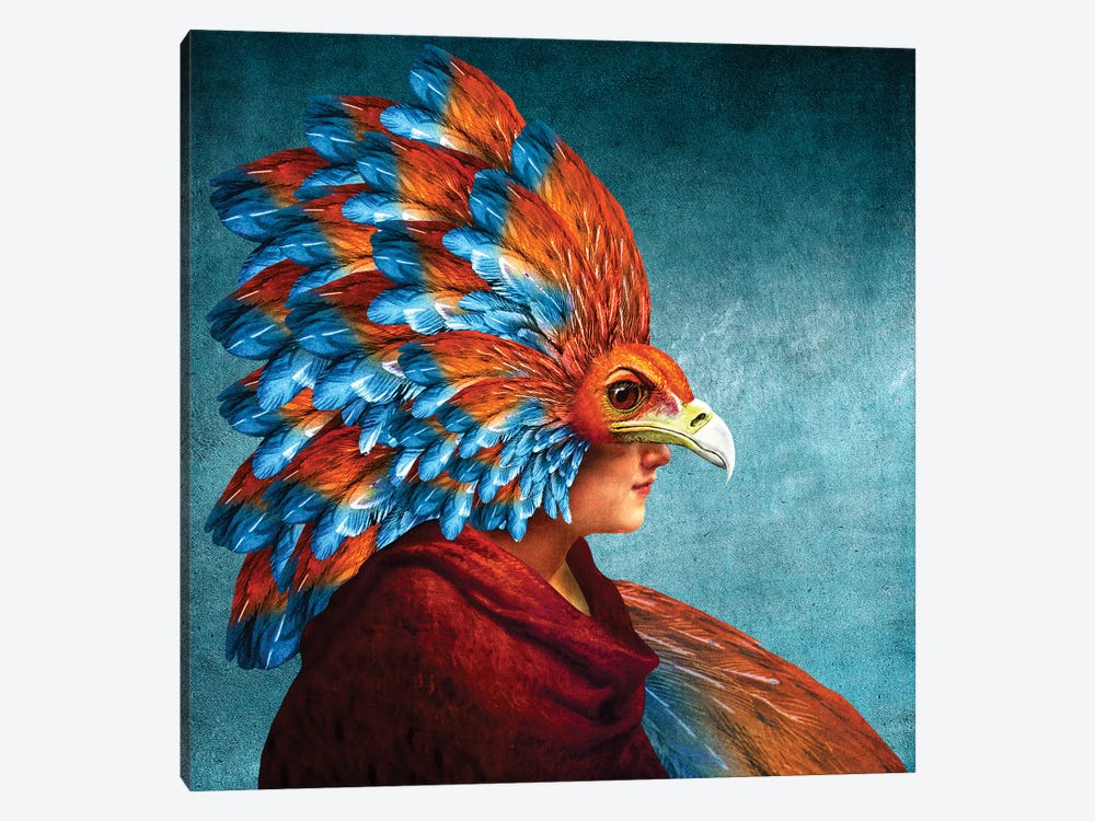 Free Spirited by Diogo Verissimo 1-piece Canvas Print
