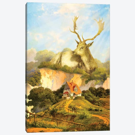 Guardian Canvas Print #DVE32} by Diogo Verissimo Canvas Art