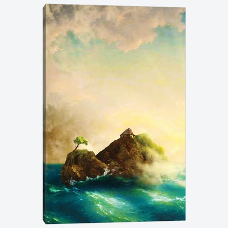 Hideout 3-Piece Canvas #DVE33} by Diogo Verissimo Canvas Wall Art