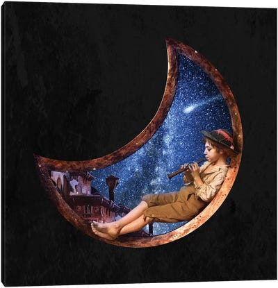 Lullaby For The Stars Canvas Art Print