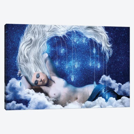 Lunar Incantation Canvas Print #DVE40} by Diogo Verissimo Canvas Art Print