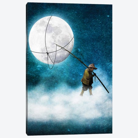 Moonwalk Canvas Print #DVE42} by Diogo Verissimo Canvas Print