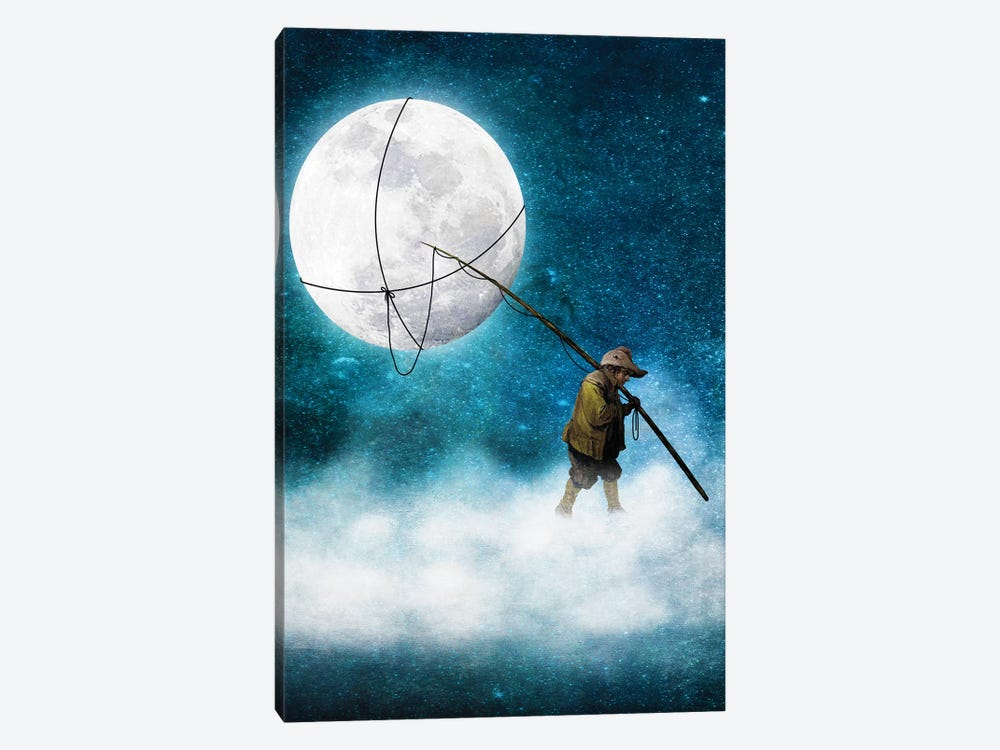 Moonwalk by Diogo Verissimo 1-piece Canvas Art Print