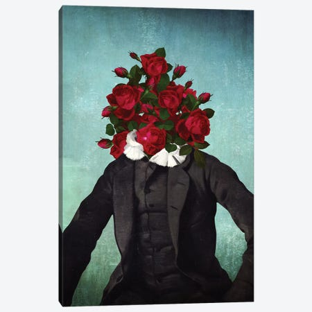Mr. Romantic Canvas Print #DVE43} by Diogo Verissimo Canvas Print