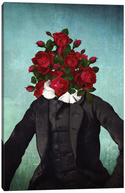 Mr. Romantic Canvas Art Print