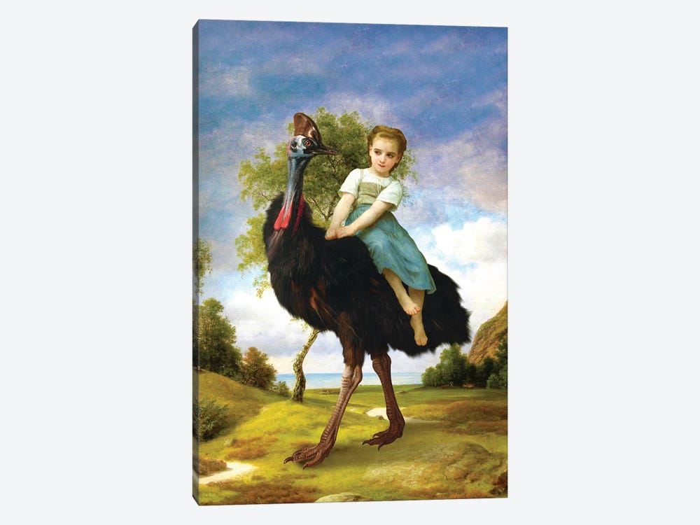 My Little Pet by Diogo Verissimo 1-piece Canvas Art