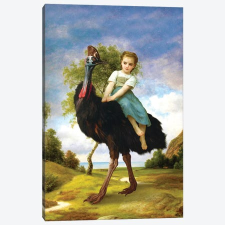 My Little Pet Canvas Print #DVE45} by Diogo Verissimo Canvas Wall Art