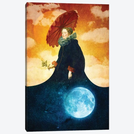Queen Of The Night Canvas Print #DVE50} by Diogo Verissimo Canvas Wall Art
