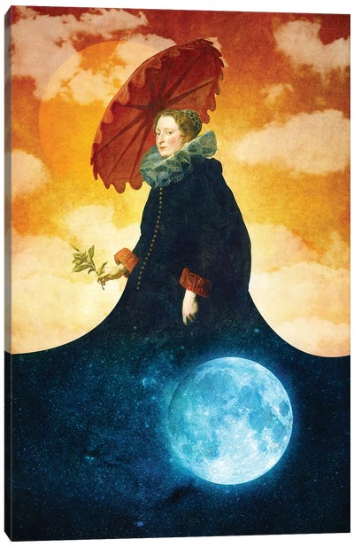 Queen Of The Night Canvas Art Print