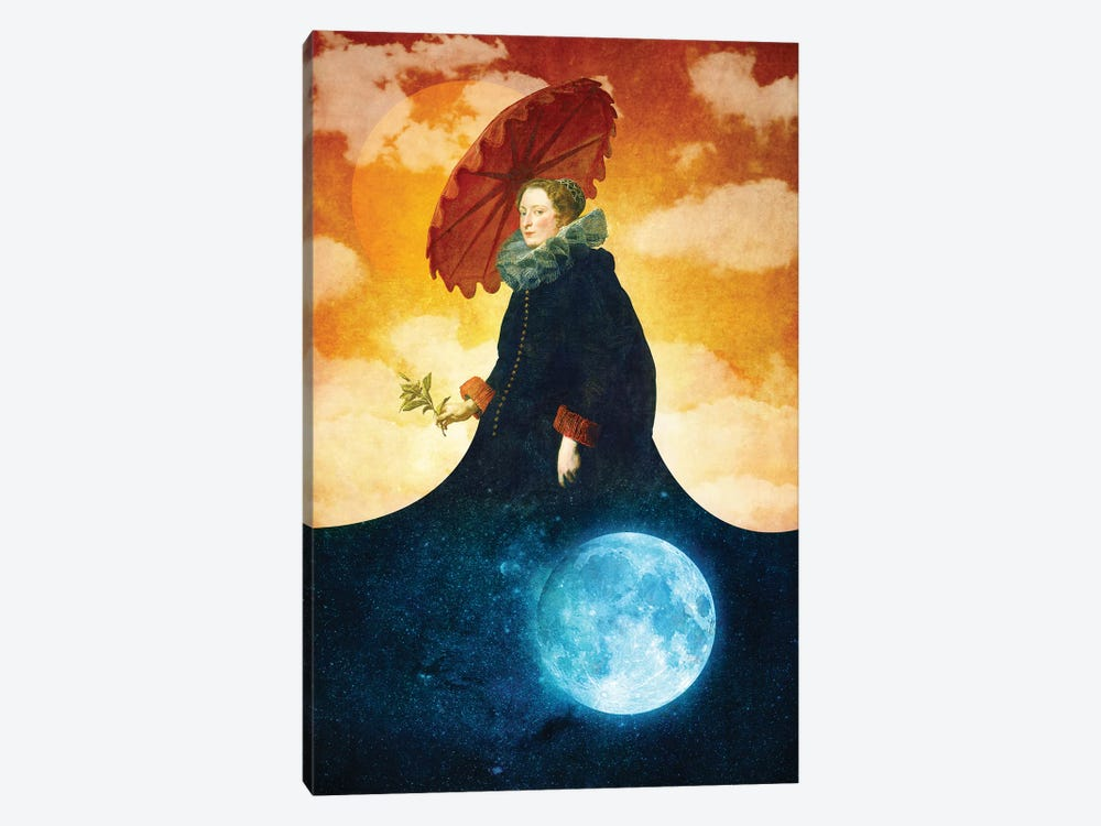 Queen Of The Night by Diogo Verissimo 1-piece Canvas Art